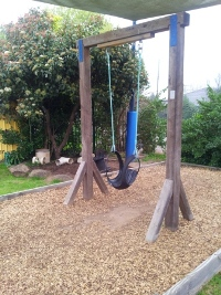 The swing and digging patch
